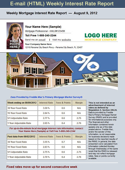 Mortgage Loan Officer Flyers
